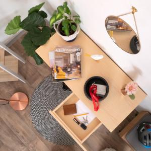 Chaise design - HOUSTON BLANC