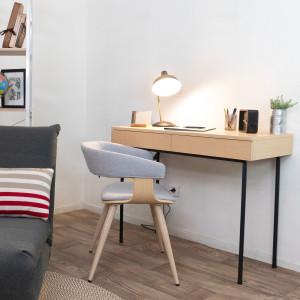Chaise design - HOUSTON NOIR