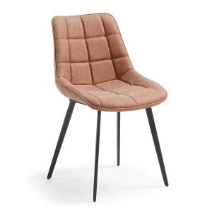 Leather, chaise matelassée...