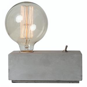 Amby, lampe de bureau en béton