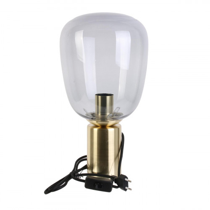 Geny, lampe dorée à poser...