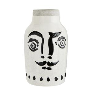 Face, vase en céramique