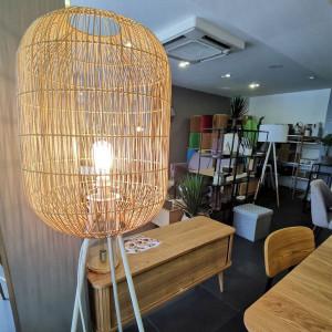Bureau design d'angle bois laqué - PICCADILY