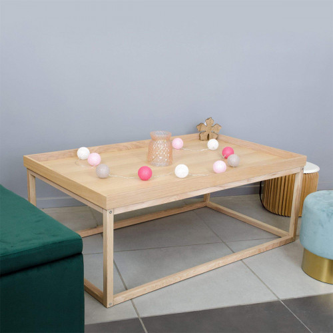 Table basse rouge - SARIKA ROUGE