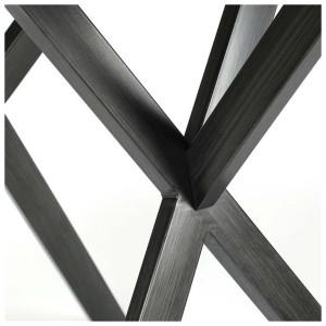 Tabouret de bar en bois chêne scandinave - SCANDIA NOIR