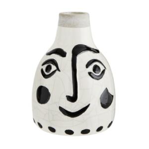 Face, vase en céramique -...