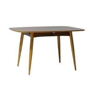 Table à manger scandinave carré en bois - TORENS NOIR
