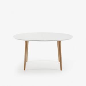 Chaise pivotante design - TRIA NOIR