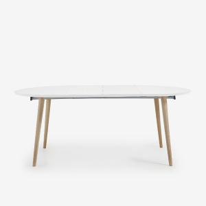 Table d'appoint en aluminium poli - TRIGO