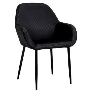 Saphir, fauteuil en velours...