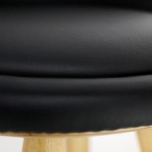 Tao, table en bois avec 2 rallonges de 50 cm - Blanc - Blanc laqué - 151 à 180 cm