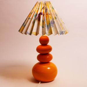 Lampe à poser avec abat-jour en cuivre - DADDY