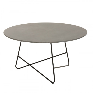 Fauteuil pivotant lounge contemporain design - BINJAI BLANC ROUGE