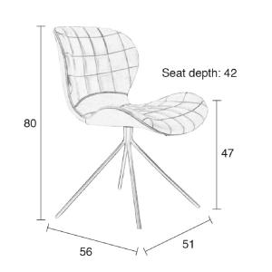 Lampe de table métallique inclinable - CICLOP MINI BLANC
