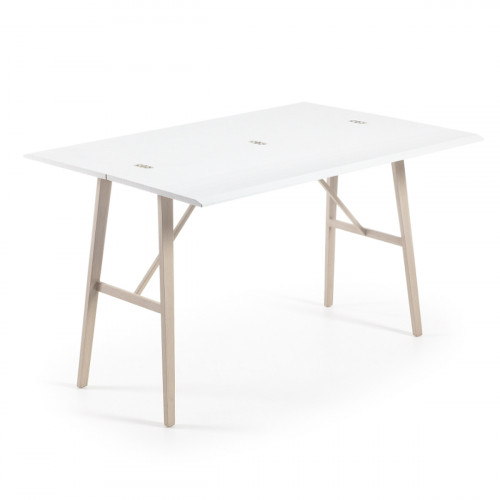 Table à manger rectangulaire extensible - DELTA NOYER