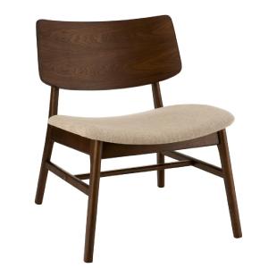 Aurore, fauteuil en bois...