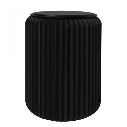 Tabouret de bar design - EQUATEUR NOIR